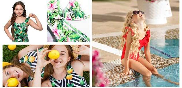 The summer rolled round again! Manufacturers and distributors of children's swimwear